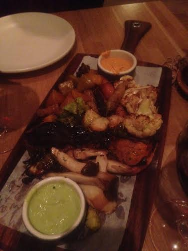 True Food Kitchen Roasted Seasonal Vegetable Board