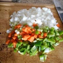 Lots of veggies....