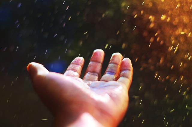cleansing rain