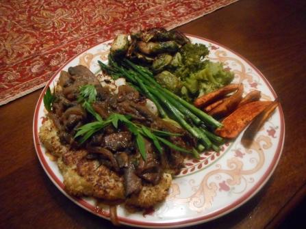 Cauliflower Steak Marsala 024