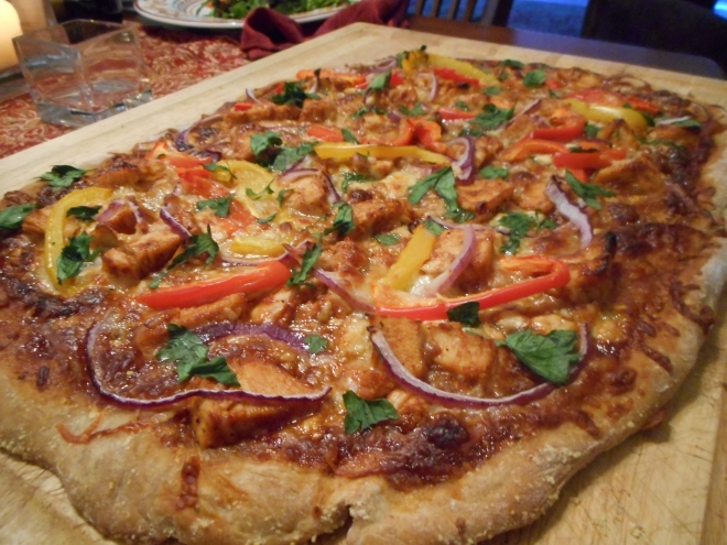 BBQ Chicken Pizza 16