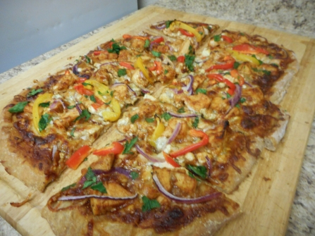 BBQ Chicken Pizza 17