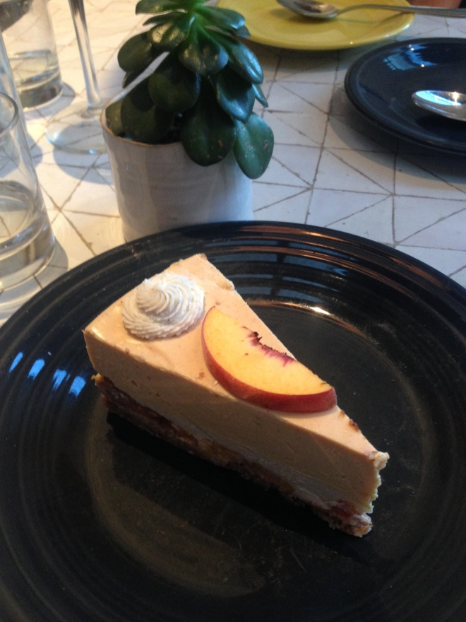 Cafe Gratitude Cheesecake 2
